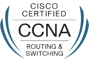 Cisco CCNA certified logo